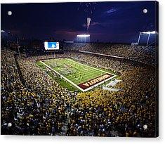 Minnesota Tcf Bank Stadium Acrylic Print by University of Minnesota