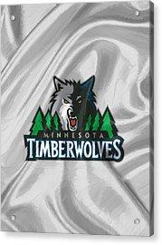 Minnesota Timberwolves Acrylic Print