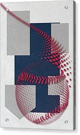 Minnesota Twins Art Acrylic Print by Joe Hamilton