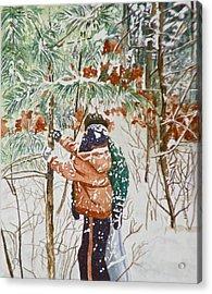 Minnesota Winter Acrylic Print