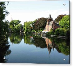 Minnetwaterpark Bruges Acrylic Print by David L Griffin