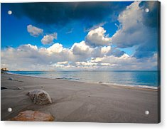 Minot Beach In Scituate Massachusetts  Acrylic Print