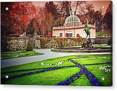 Mirabell Gardens Salzburg  Acrylic Print