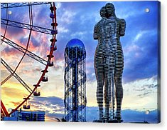 Acrylic Print featuring the photograph Miracle Park by Fabrizio Troiani