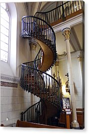 Acrylic Print featuring the photograph Miraculous Stairs by Kurt Van Wagner
