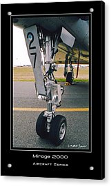 Mirage 2000 Acrylic Print by Mathias Rousseau