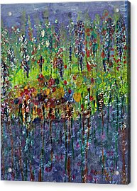 Mirage Painting Acrylic Print by Don  Wright