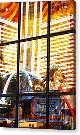 Mirage Reflection Acrylic Print by Richard Henne