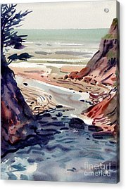 Miramonte Point Acrylic Print by Donald Maier