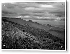 Mirante-pico Do Itapeva-campos Do Jordao-sp Acrylic Print