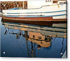 Acrylic Print featuring the photograph Mirror Image by Carol Grimes