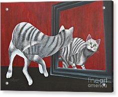 Mirror Image Acrylic Print by Jutta Maria Pusl