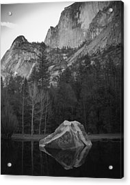 Mirror Lake Rock Acrylic Print