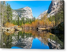 Mirror Lake Yosemite Np Acrylic Print