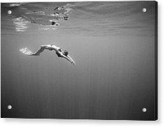Mirror, Mirror Acrylic Print by One ocean One breath