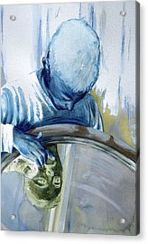 Acrylic Print featuring the painting Mirror Mirror by Rene Capone