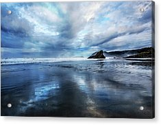 Acrylic Print featuring the photograph Mirror Of Light by Debra and Dave Vanderlaan