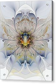 Mirrored Blossom Acrylic Print