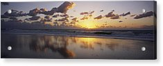 Mirrored Mexico Sunset Acrylic Print by Bill Schildge - Printscapes