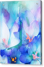 Acrylic Print featuring the digital art Mirthfulness by Klara Acel
