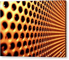 Miscellaneous Meshed Metal                    Acrylic Print