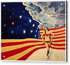 Miss America? Acrylic Print
