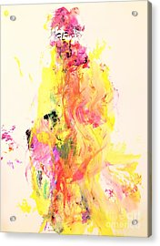 Miss Conviviality Acrylic Print by Dr Ernest Williamson III