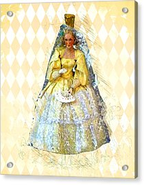 Miss Havisham Acrylic Print by Methune Hively