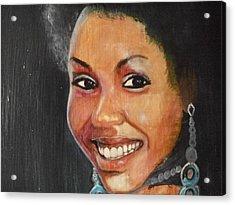 Miss Ingenuity  Acrylic Print by Nixon Mwangi