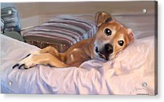 Acrylic Print featuring the painting Miss Penny by Thomas Lupari