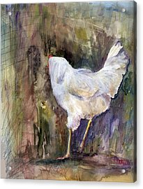 Miss Priss Acrylic Print by Jimmie Trotter