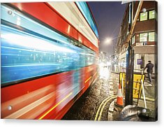 Missed The Bus Acrylic Print