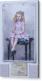 Missing Daddy, Devonshire 1940 Acrylic Print