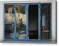 Missing Window Pane Acrylic Print by Prakash Ghai