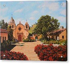Mission Carmel Acrylic Print