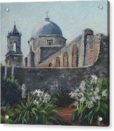 Mission Concepcion In San Antonio Acrylic Print