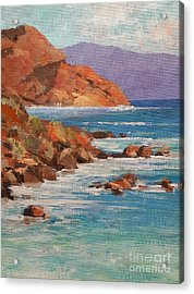 Mission Cove Acrylic Print