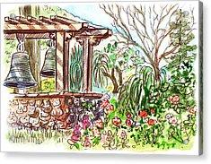 Mission Garden San Louis Obispo Acrylic Print