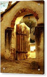 Mission Gate - San Miguel Acrylic Print