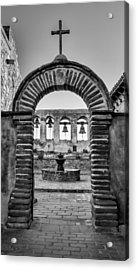 Mission Gate And Bells #3 Acrylic Print