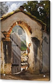 Mission Gate Acrylic Print