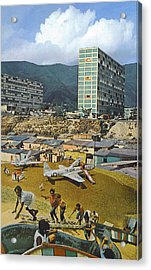 Mission Main Acrylic Print by Kevin Porter