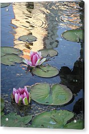 Mission Reflected Acrylic Print
