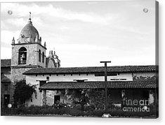 Mission San Carlos Borromeo De Carmelo No1 Acrylic Print by Mic DBernardo