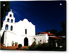 Acrylic Print featuring the photograph Mission San Diego De Alcala by Christopher Woods