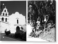 Mission San Diego De Alcala No1 Acrylic Print by Mic DBernardo