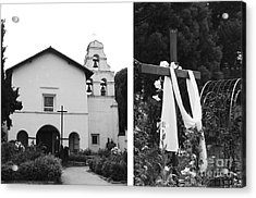 Mission San Juan Bautista No1 Acrylic Print by Mic DBernardo