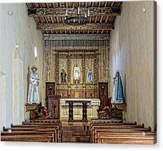 Acrylic Print featuring the photograph Mission San Juan Capistrano Sanctuary - San Antonio by Stephen Stookey