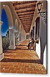 Mission San Luis Rey Acrylic Print by Karyn Robinson