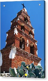 Mission San Miguel Bell Tower Acrylic Print